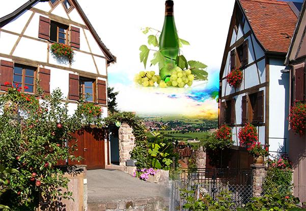 Elsass Karte Colmar.Holiday Rentals In Alsace In Gueberschwihr Near Colmar And Eguisheim