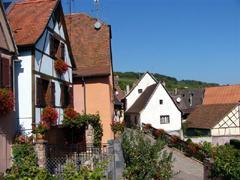 Gite en Alsace à Gueberschwihr village pittoresque près de Colmar